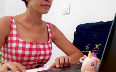 Rencontre avec Elise, étudiante à Digital College Réunion